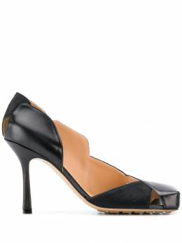 Bottega Veneta - 95mm square-toe pumps 098VBRD0955695380000