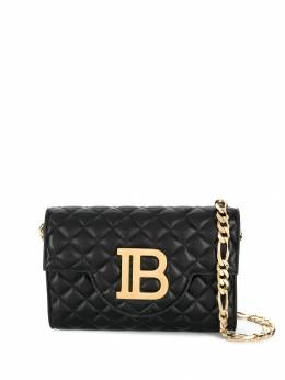 Balmain - quilted leather Bbag cross-body S053LNFM955906000000