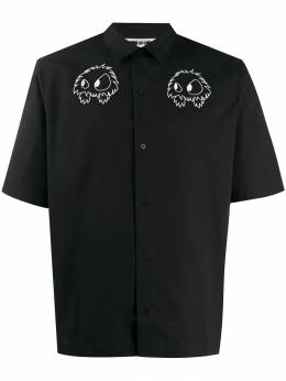 McQ Alexander McQueen - embroidered short sleeve shirt 989RLP36955093360000