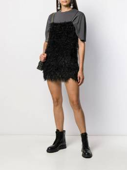 Laneus - fitted short knit dress 59695593983000000000