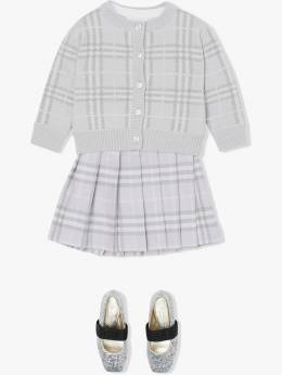 Burberry Kids - vintage check pleated skirt 38099555659300000000