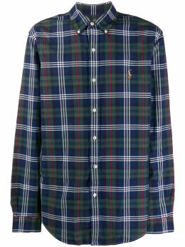 Polo Ralph Lauren - embroidered logo plaid shirt 36355995506655000000