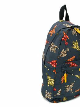 Stella McCartney Kids - rocket print backpack 335SNK33955353330000