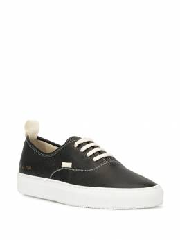 Common Projects - pebbled leather low-top sneakers 59556538300000000000