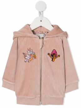 Stella McCartney Kids - бархатная куртка-бомбер 395SNJ05955055500000