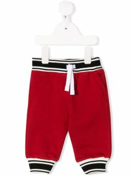 Dolce&Gabbana Kids - contrast drawstring trousers P5AG3TCL955863530000