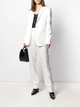 Helmut Lang - single-breasted fitted blazer HW963955999360000000