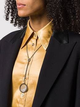 Ann Demeulemeester - loose crystal pendant necklace 06633605639955998830