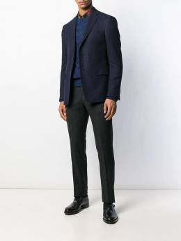 Etro - paisley lined single-breasted blazer 53693995596385000000