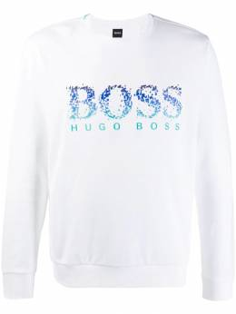 Boss Hugo Boss - disintegrating logo sweatshirt 99599955066560000000