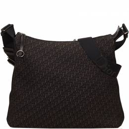 Dior Brown Jacquard Canvas Diorissimo Shoulder Bag 105626