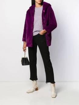 Herno - faux fur hooded jacket 059D9005995569665000