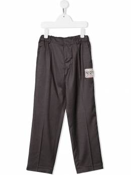 Nº21 Kids - elasticated waist trousers 50LN66096N9689559393