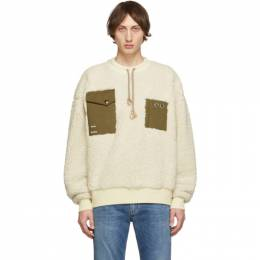 Acne Studios Off-White Polar Fabion Sweater 192129M20104105GB