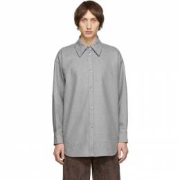 Acne Studios Grey Sarwin Long Sleeve Shirt 192129M19202204GB