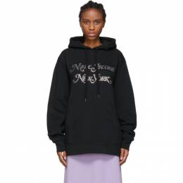 Marc Jacobs Black New York Magazine Edition Embellished Logo Hoodie 192190F09700303GB