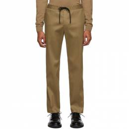Boss Beige Banks Trousers 192085M19101802GB