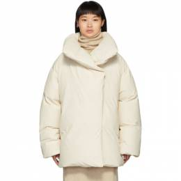 Toteme Off-White Down Annecy Jacket 192771F06100204GB
