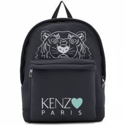 Kenzo Grey Limited Edition Tiger Backpack 192387F04202301GB