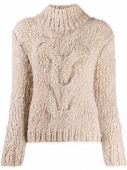 Snobby Sheep - cashmere cable knit jumper 56TRECCE955355060000