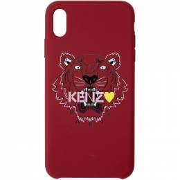 Kenzo Red Limited Edition Tiger iPhone X/XS Case 192387M15301801GB