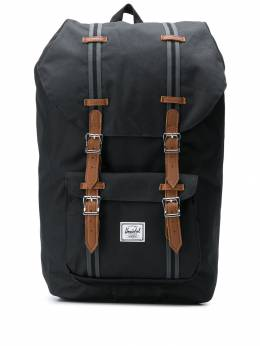 Herschel Supply Co. - рюкзак Little America с карманами 996539NERO9553656300