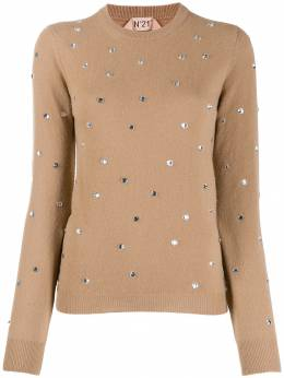 Nº21 - crystal-embellished jumper A6963689955699550000
