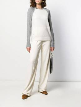 D.Exterior - hooded knitted jumper 59955909390000000000
