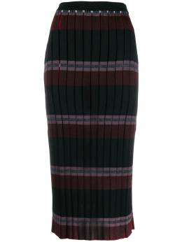 Marni - pleated knitted skirt D6603Q6FW69895505009