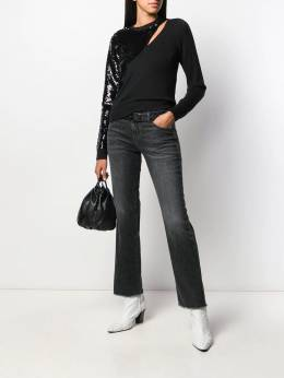 RtA - belted flared jeans 338005STUD9556535900