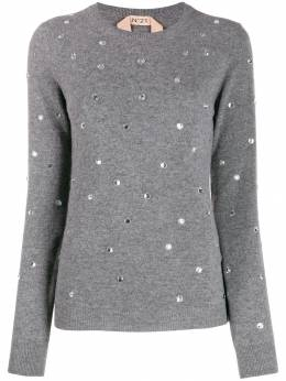 Nº21 - crystal-embellished jumper A6963689955699560000