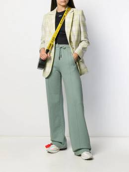 Off-White - knitted flared trousers H665E99F096935959955
