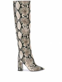 Tabitha Simmons - Izzy snakeskin print boots Y9559033800000000000