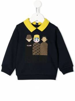 Fendi Kids - friends graphic sweatshirt 6595V6F96WE955805000