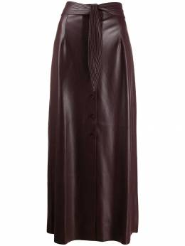 Nanushka - high waisted midi skirt 66669955939380000000