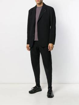 Issey Miyake - wrinkled-effect single-breasted blazer 8FD63395955055830000