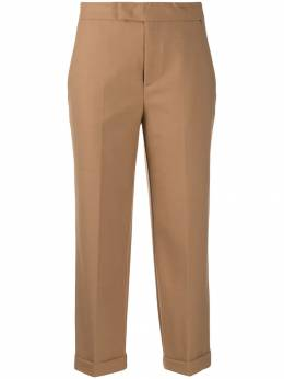 Twin-Set - cropped tailored trousers TT055595566968000000