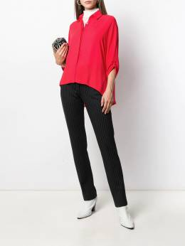 Styland - ruched sleeve shirt 33665395535339000000