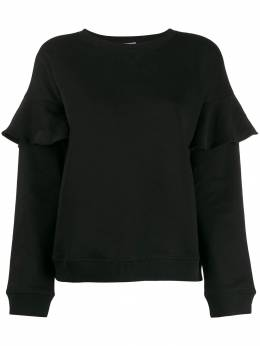 Red Valentino - ruffle trim sweatshirt MF69U5M0955960350000