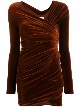 Alexandre Vauthier - fitted draped dress DR996069939955955995