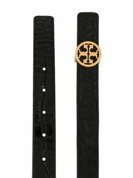 Tory Burch - embossed leather belt 95955350930000000000