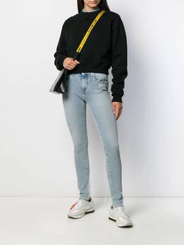 Off-White - embroidered details skinny jeans A663F99C366653969955