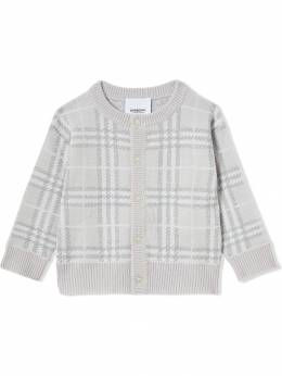 Burberry Kids - кардиган в клетку 38839555559900000000