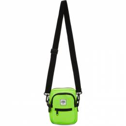 Opening Ceremony SSENSE Exclusive Green Mini Neoprene Crossbody Bag 192261F04801801GB