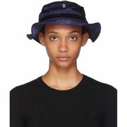 Opening Ceremony SSENSE Exclusive Black Neoprene Bucket Hat 192261F01500401GB
