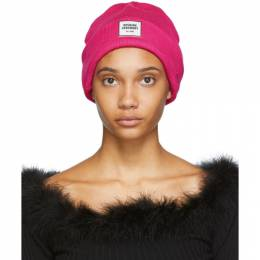 Opening Ceremony Pink New Era Edition Logo Beanie 192261F01400501GB