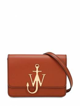 Small Anchor Logo Leather Shoulder Bag J.W. Anderson 70IIJF008-NjI40