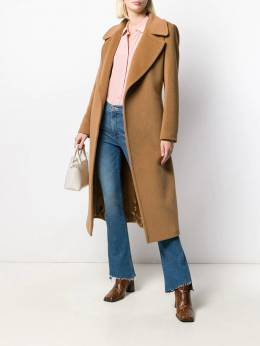 Tagliatore - belted mid-length coat 03955955330000000000