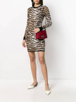 Michael Michael Kors - tiger pattern knitted dress 8Z5SCLS0999553956500