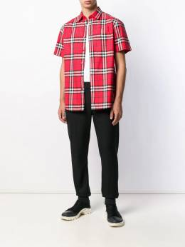 Burberry - check pattern shirt 68369559953900000000